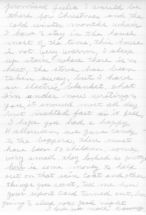 grammy letter 1966 pg2