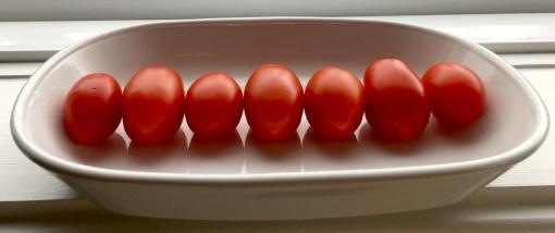 7 tomatoes