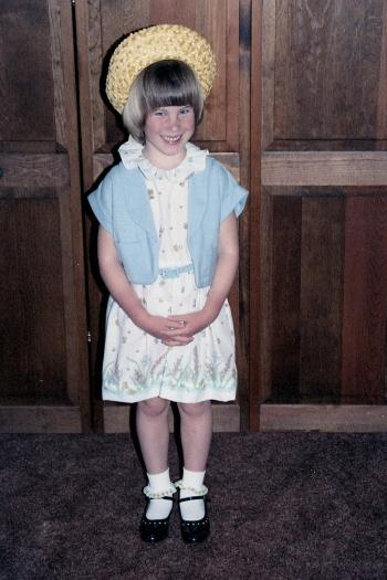 easter hat 1987 April