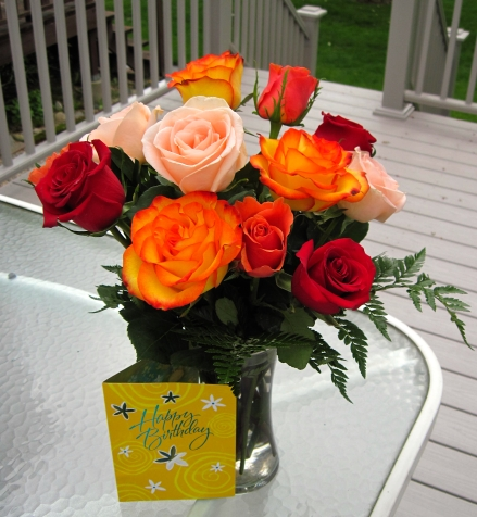 birthday roses 2012