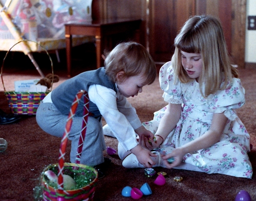 easter baskets1989