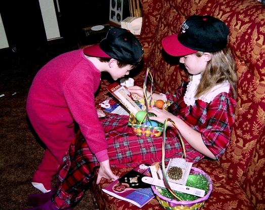 easter baskets1993