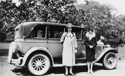 fashion car circa 1927