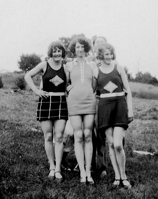 fashion swimwear 1927