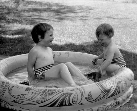 May 1957backyard