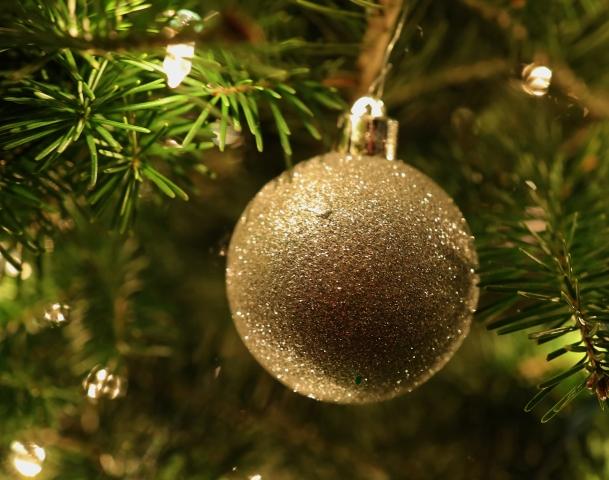 gold ornament
