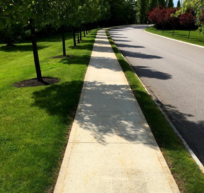 sidewalk lines