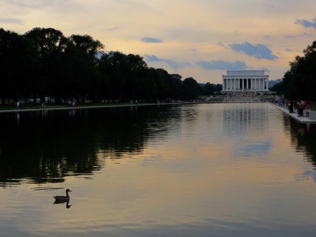 DC reflecting pond