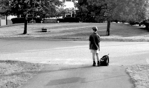 waiting for bus 1996