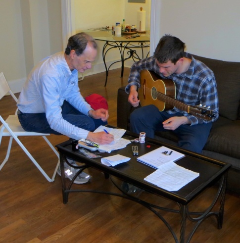 March 2014 guitar lesson