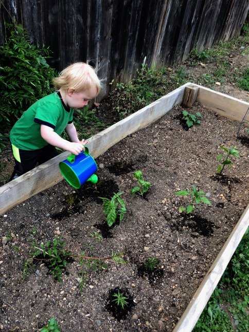 Spring gardener age almost 2