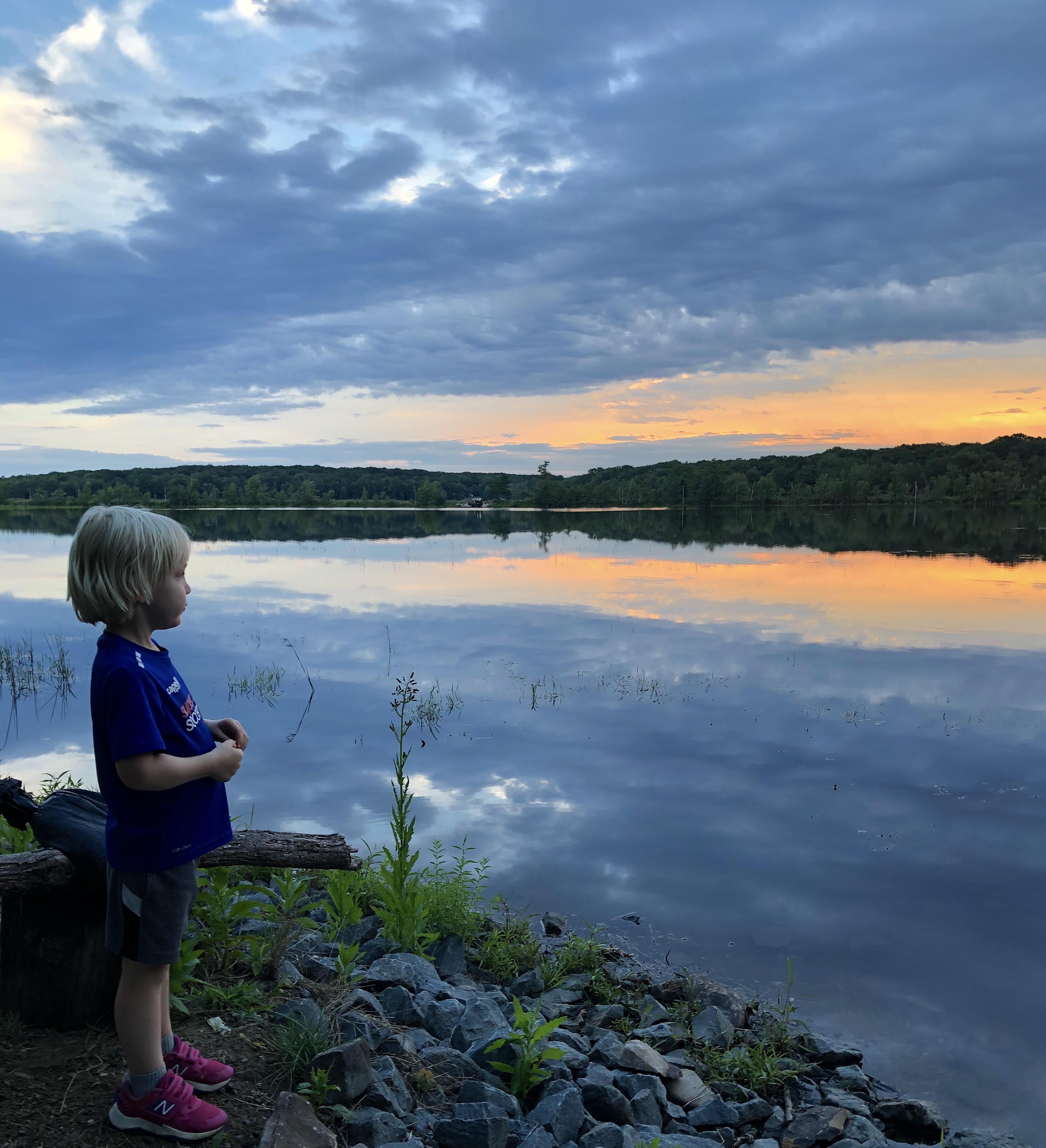 lake sunset 2020